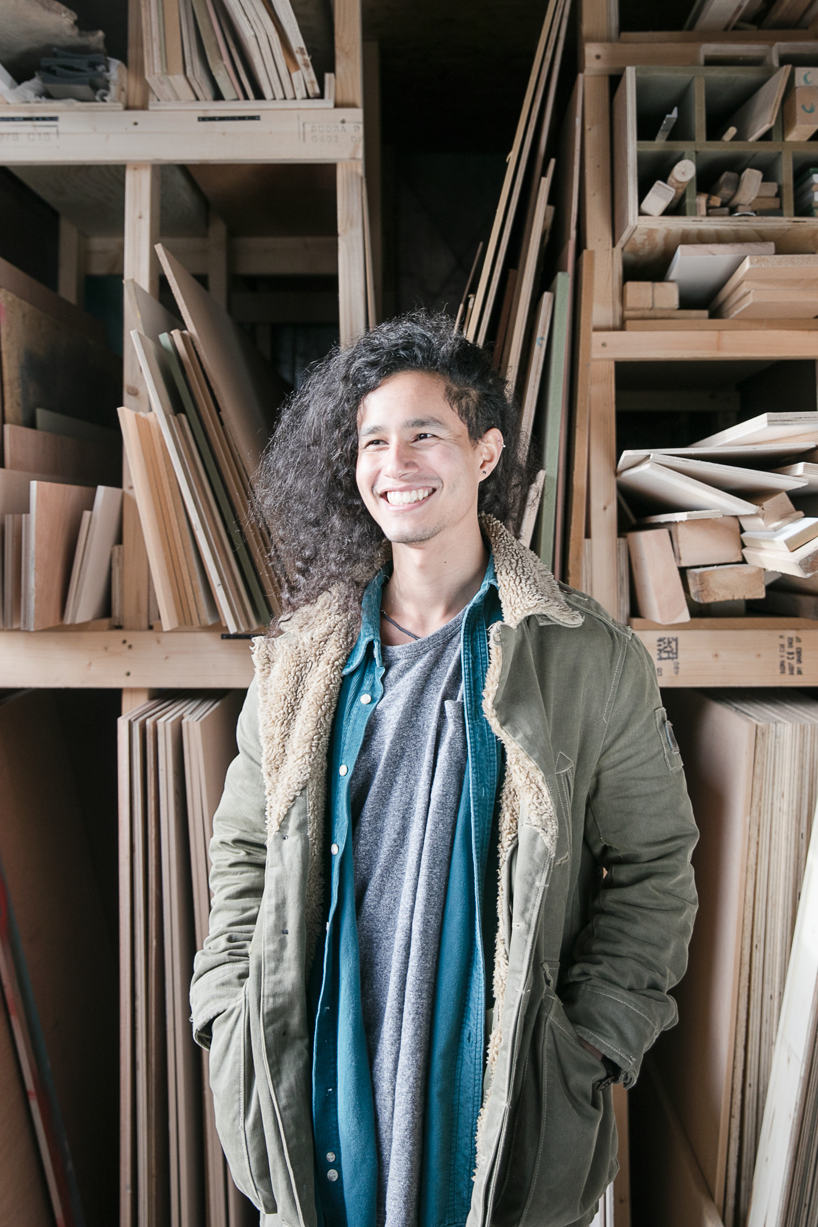 Workshop Portraits, Kareem.