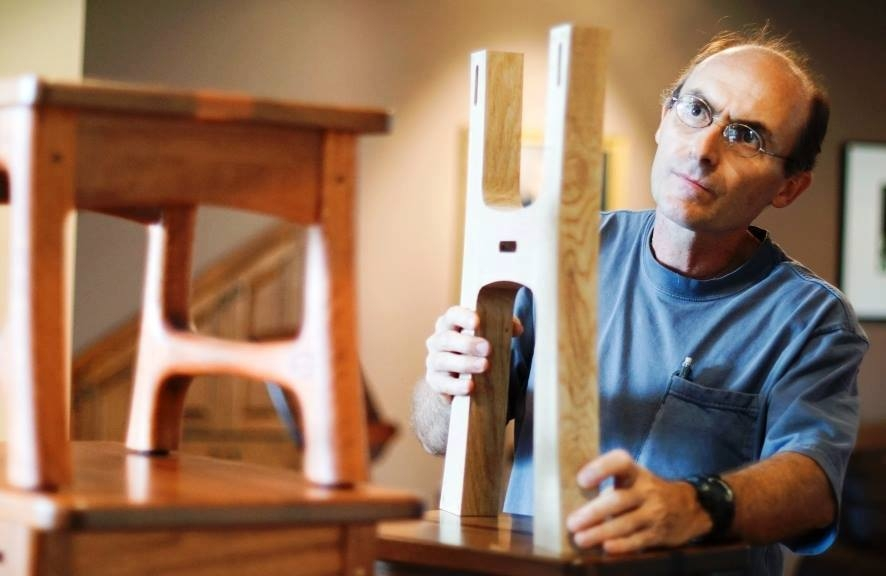 (PHOTO) George Abiad, Anderson, Indiana furniture maker