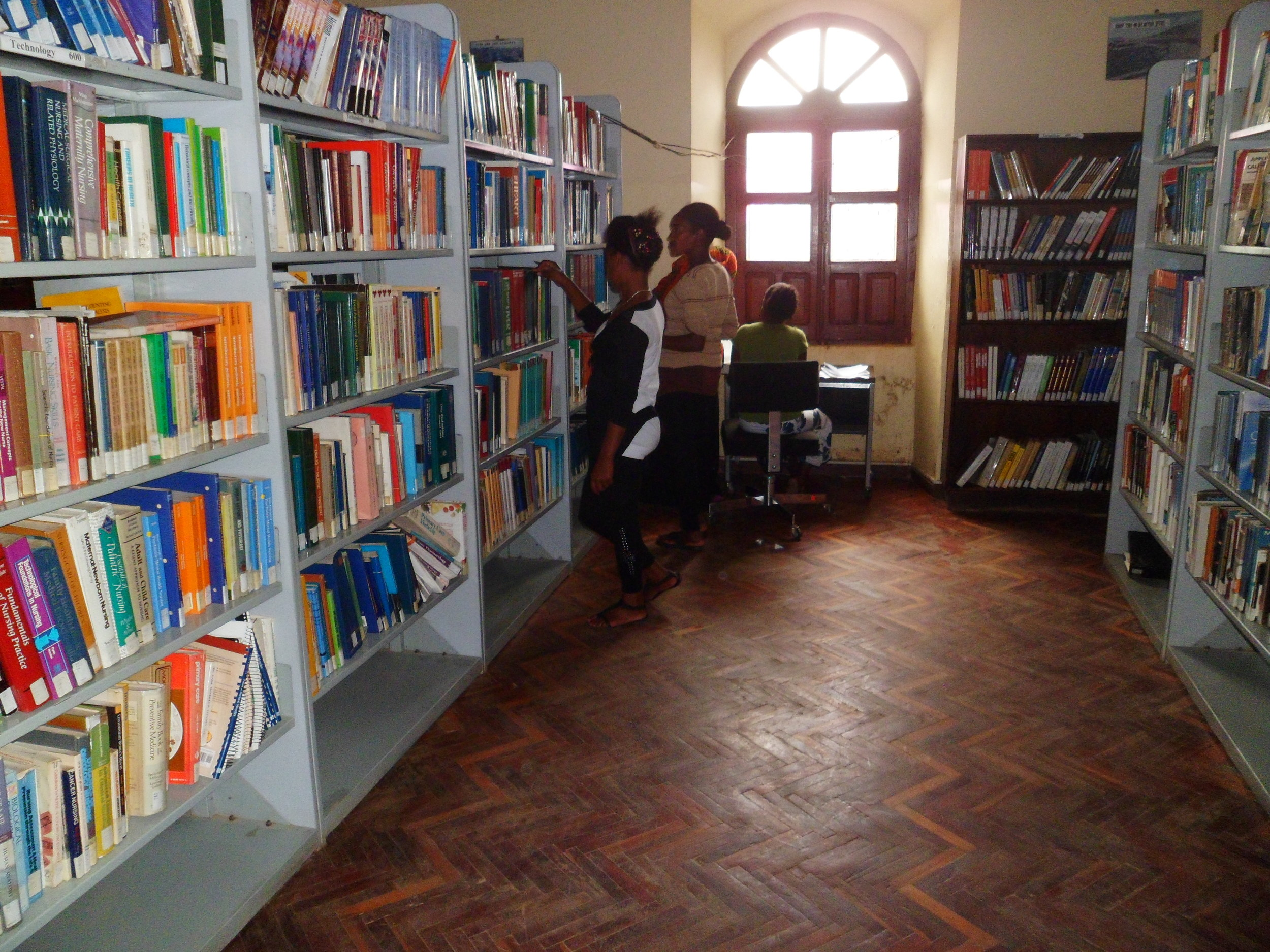 With 20,000 books in its possession, the library offers resources that are unavailable anywhere else in the city.