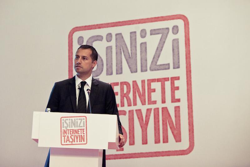 """Mustafa İÇİL (""""İşinizi İnternete Taşıyın"""" Lansmanı)"""
