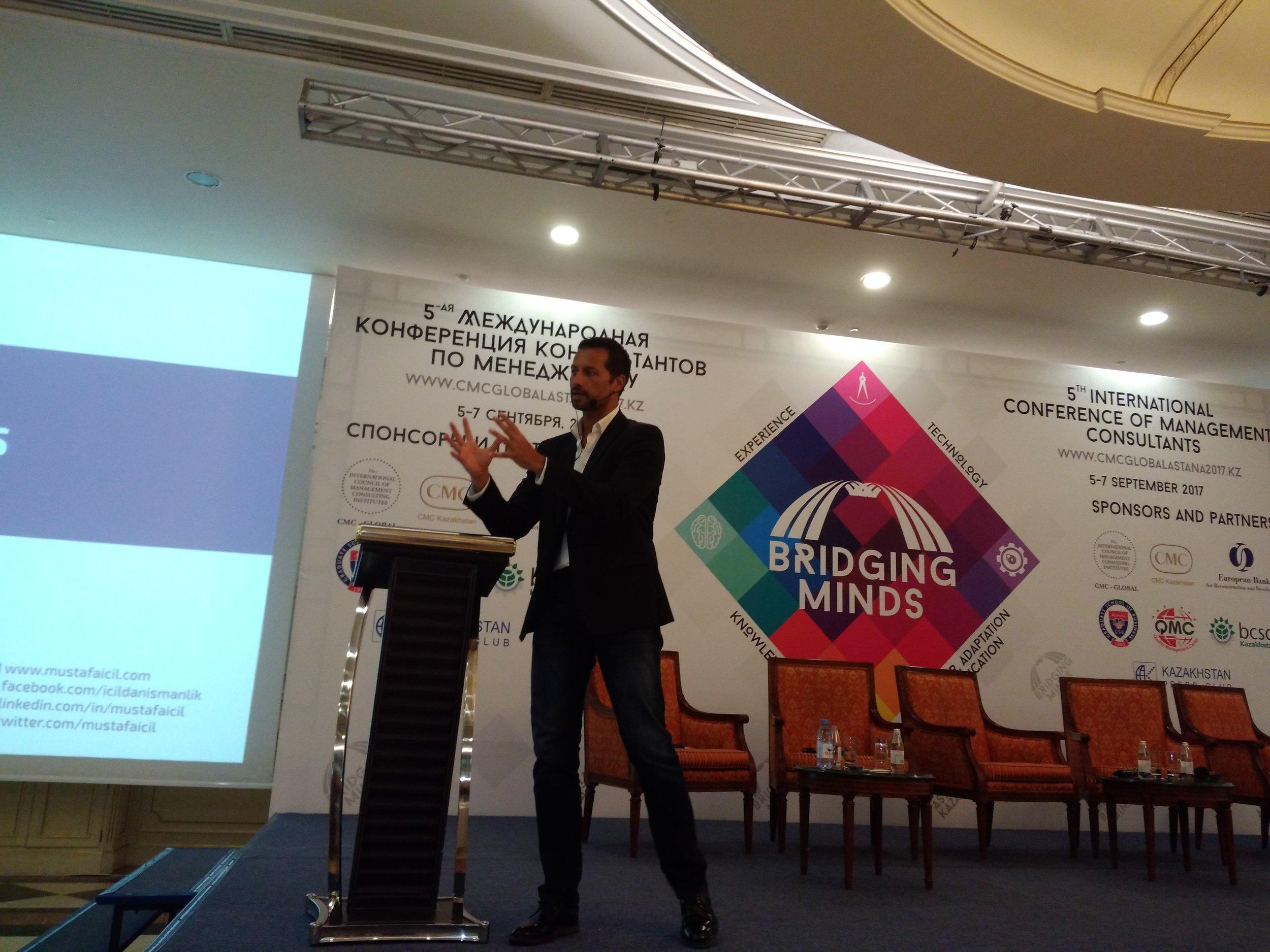"Mustafa İÇİL ""Adapting to Digital Transformation"" (Astana CMC Conference)"