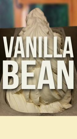 VANILLA BEAN GELATO    Fresh, pure flavor made with Madagascar vanilla bean.