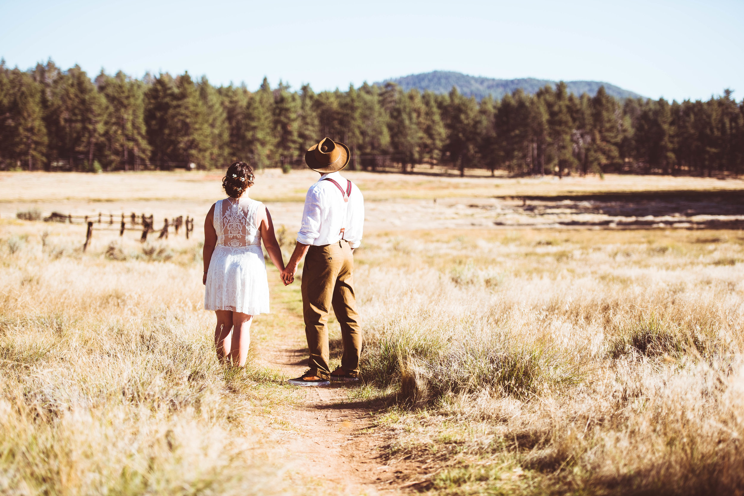 Wedding Photography on Mt. Laguna