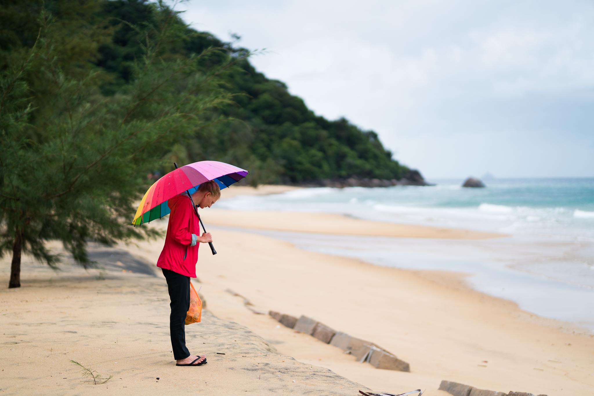 Rainy days in paradise