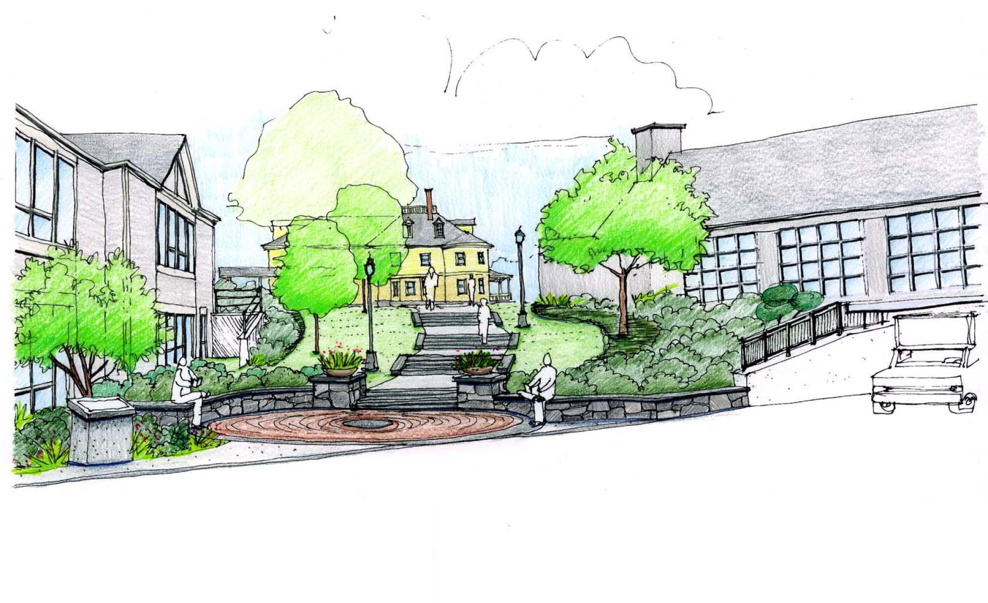 North Entry Landscape Sketch color.jpg