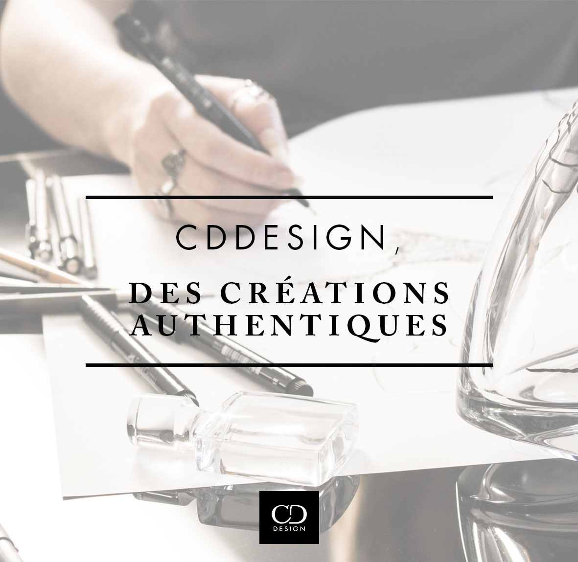 CDDESIGN, des créations authentiques