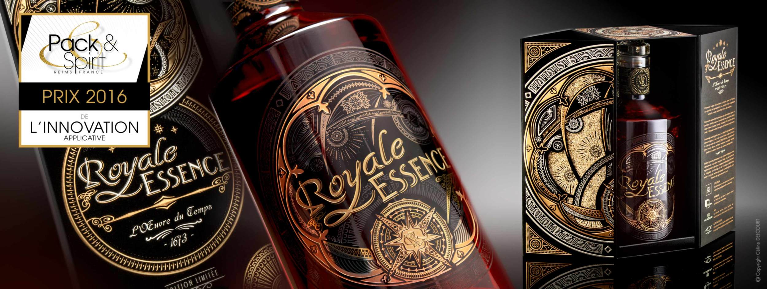 ROYALE ESSENCE au salon Pack & Spirit à Reims