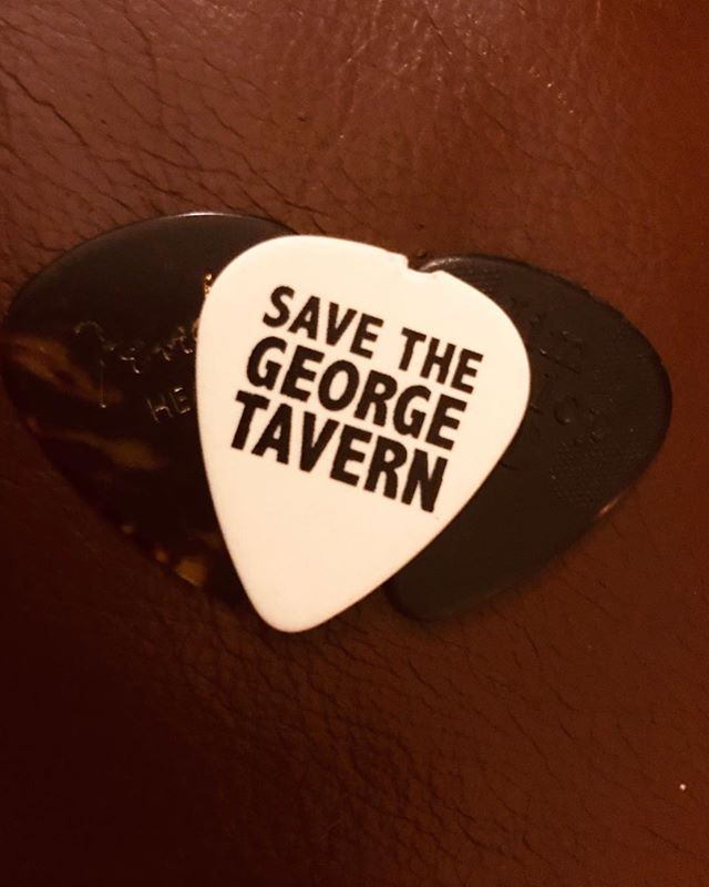 Amazing news this week about success of @savethegeorgetavern in saving this beautiful and historic London Music Venue.  We've been proud to support their campaign over the years, so glad the fight has been worth it!! See you down there for a drink soon Pauline! X