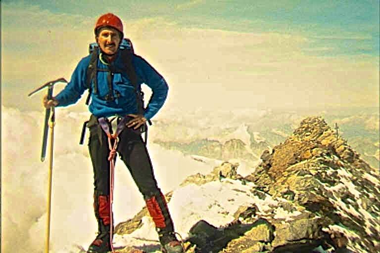 Summit of the Matterhorn.