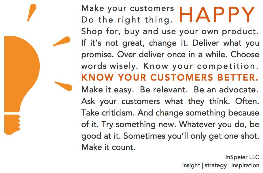 Make Your Customers Happy CX Manifesto
