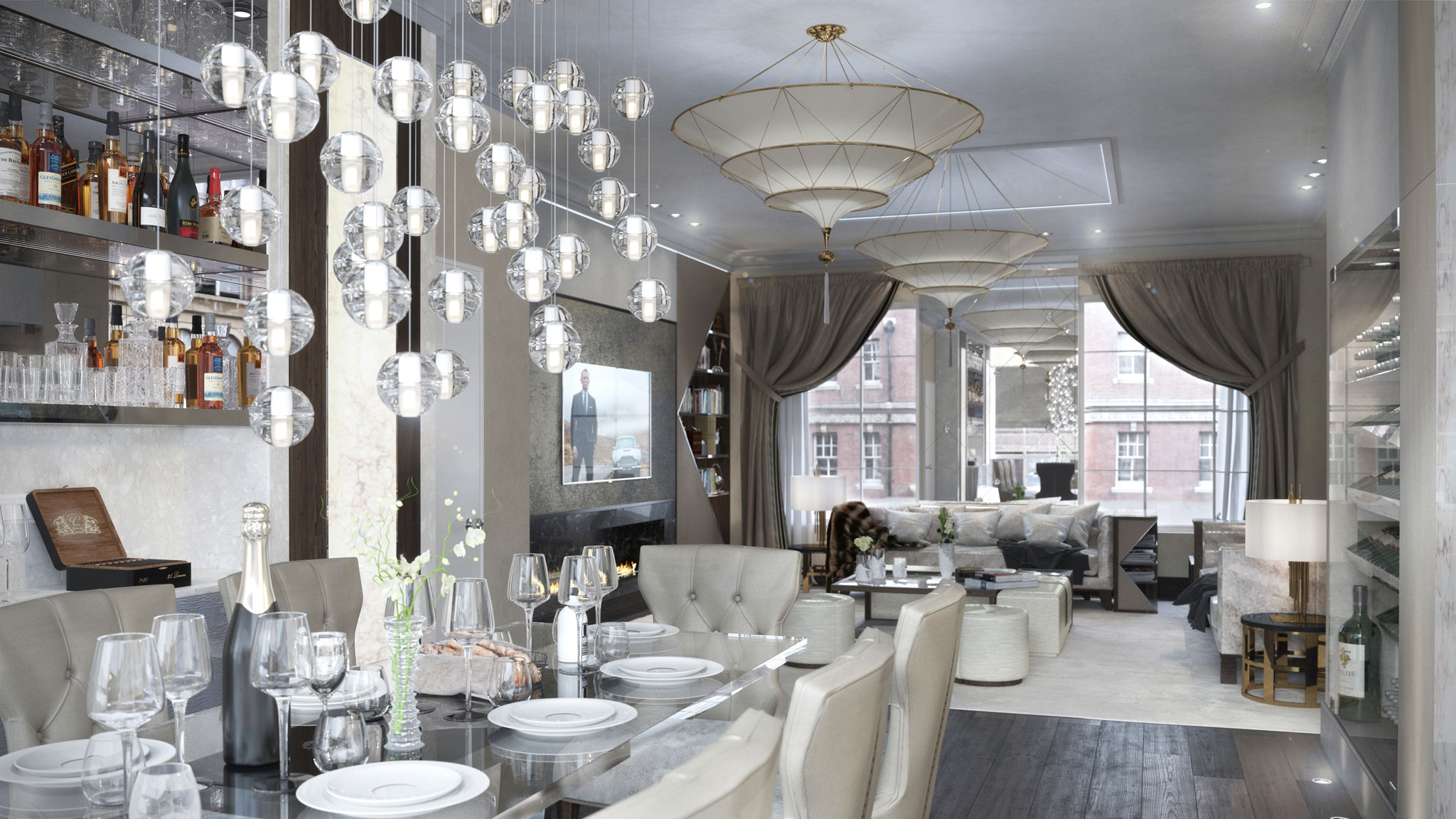 161 LONDON, MAYFAIR  COLLABORATion WITH THE MULTI-AWARD WINNING Luxury Interior Design AND London Property Developer 161 LONDON
