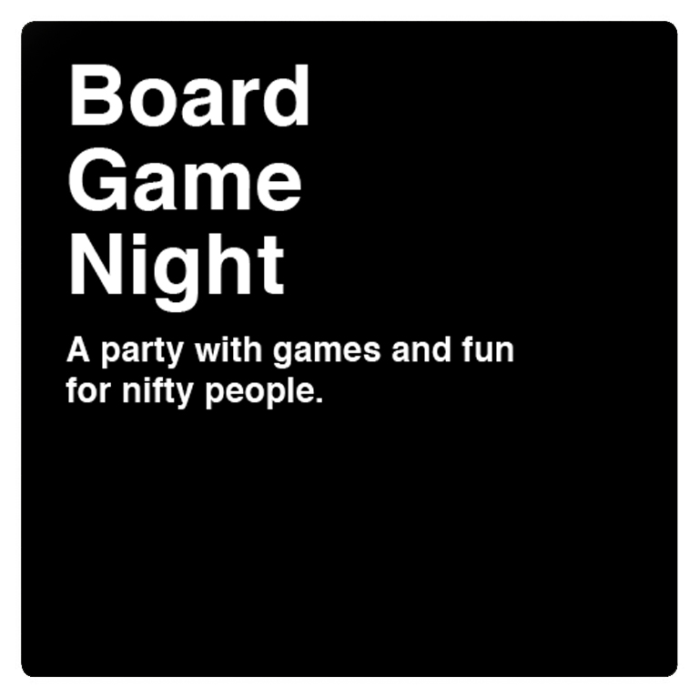 BYOBG: Bring your own board game or use one of ours!   GAMES WE OFFER  Jenga, Battleship, Connect 4, Settlers of Catan, Cards Against Humanity, Uno, Trouble, Liars dice, chess, playing cards.  Wear an Iron Triangle T-shirt and Get $5 pints all night!