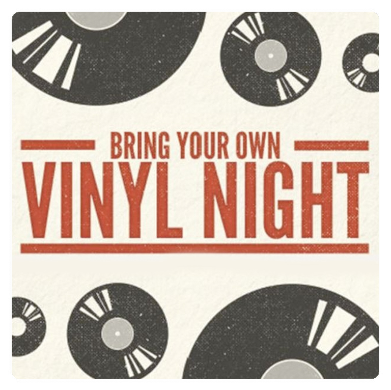 Bring Your Own Vinyl Night with Best Bad. Bring in your favorite tunes and relax with a great beer!