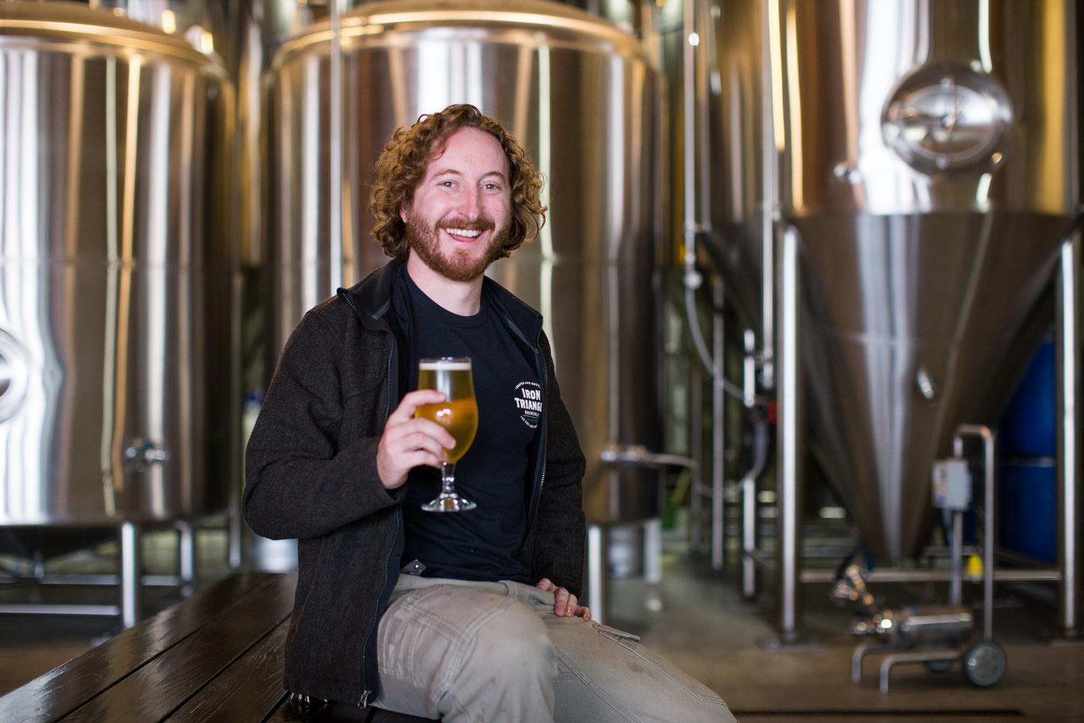 Josiah Blomquist   Head Brewer - josiah.blomquist@irontrianglebrewing.com