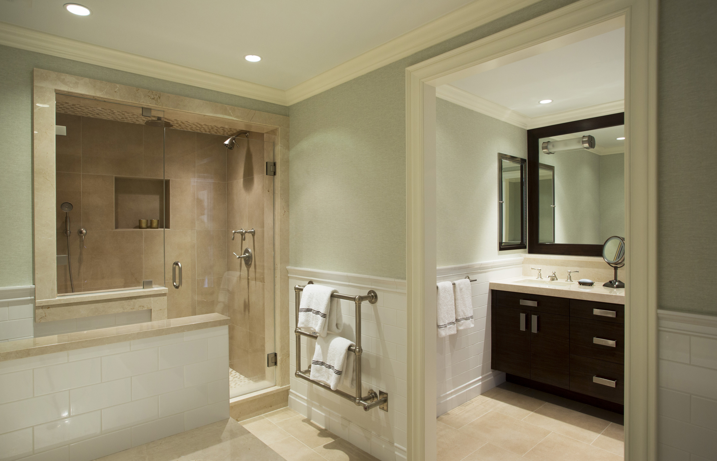 Interior Design by  Lewis Interiors   Photography by  Eric Roth
