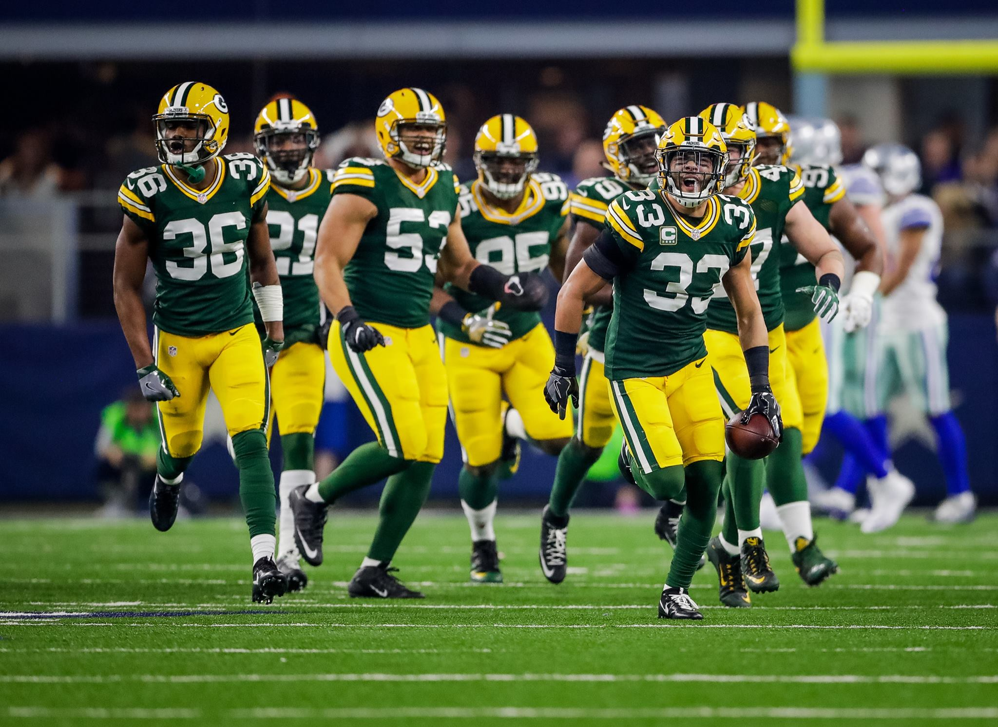 Sometimes something bigger can be attending a thrilling post-season game where you're able to watch your team win with seconds remaining. #GoPackGo