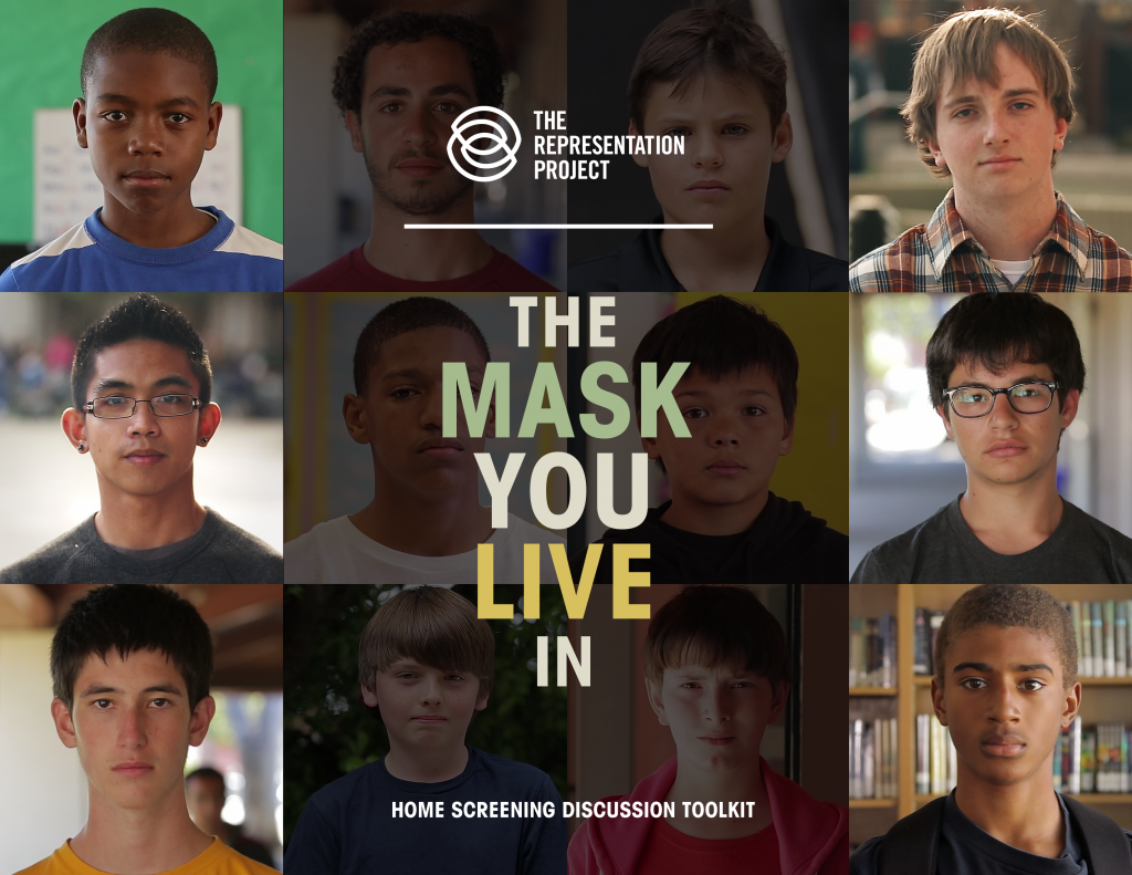 movie poster of Mask We Live In