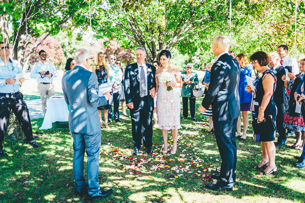 Canberra Small Weddings - Lake Burley Griffin Ceremony