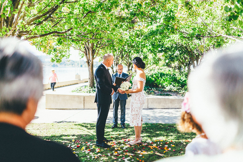 Canberra Small Weddings - Intimate Wedding Ceremony