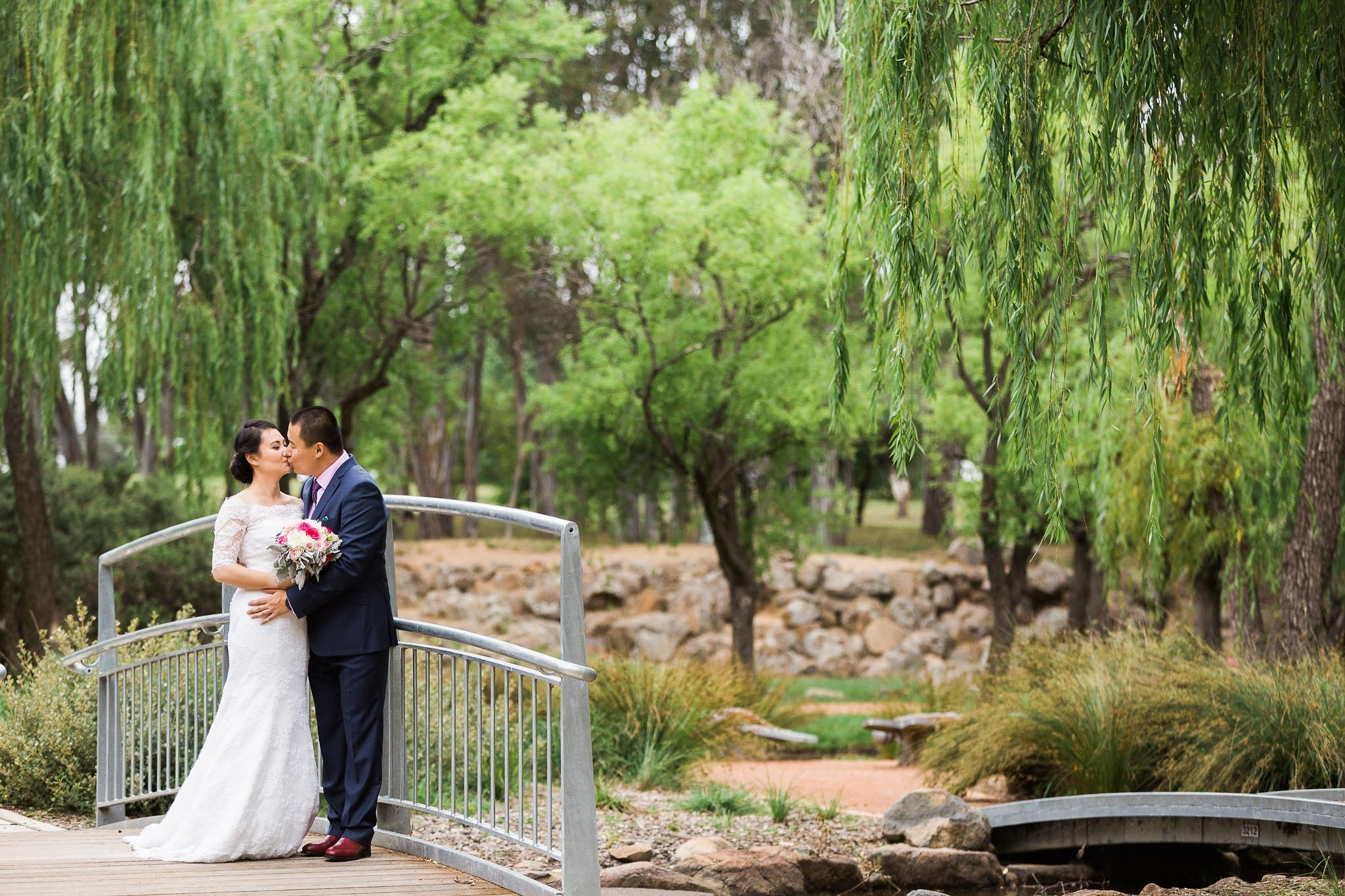 Wedding Photography - Western Park Canberra