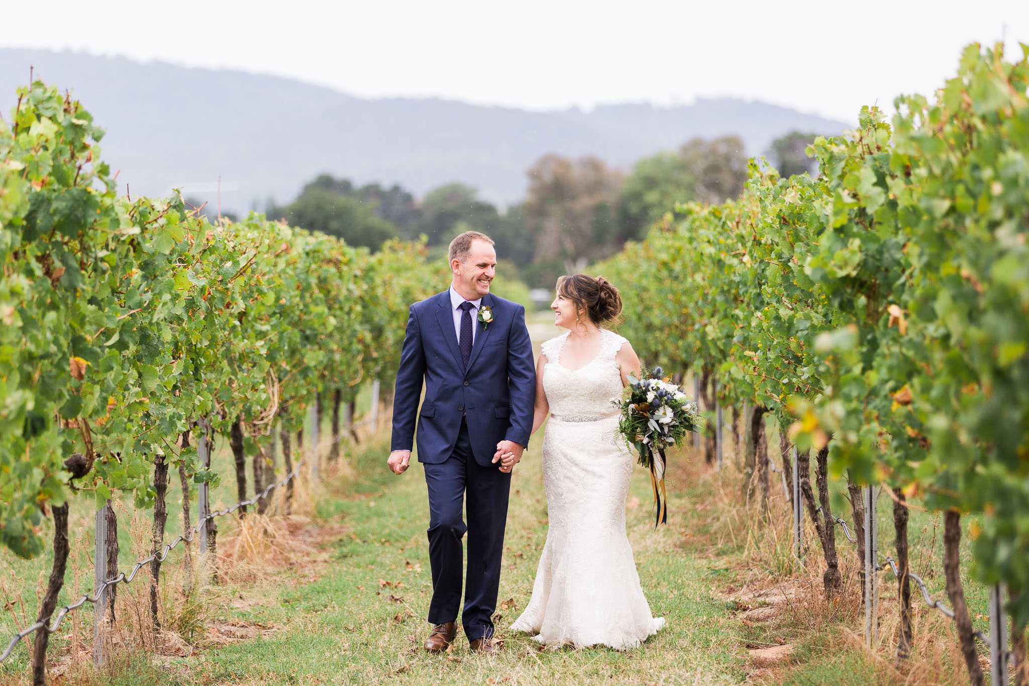 The vineyard at Pialligo Estate - Pop Up Wedding Canberra