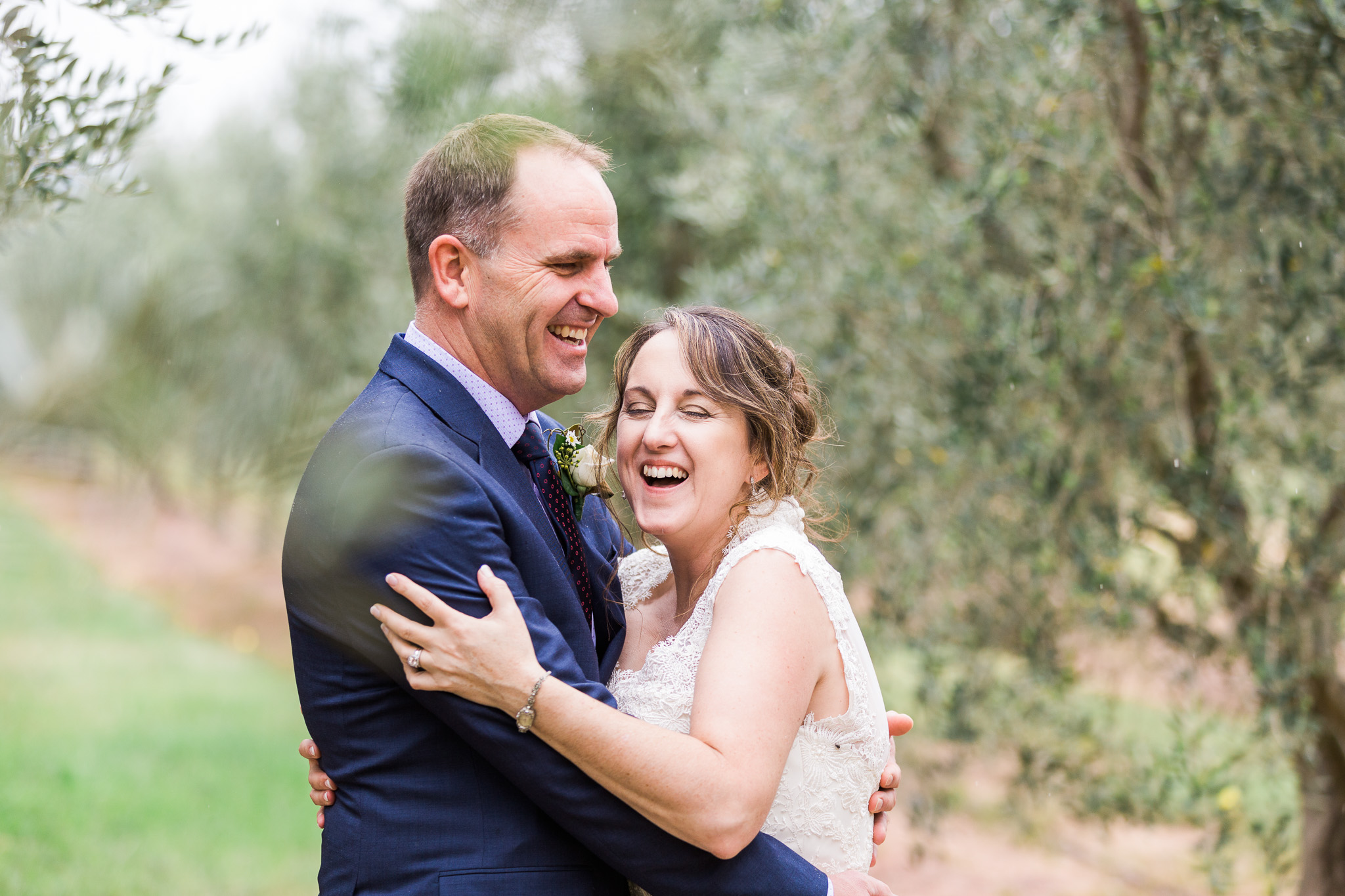 Pialligo Estate olive grove wedding photography