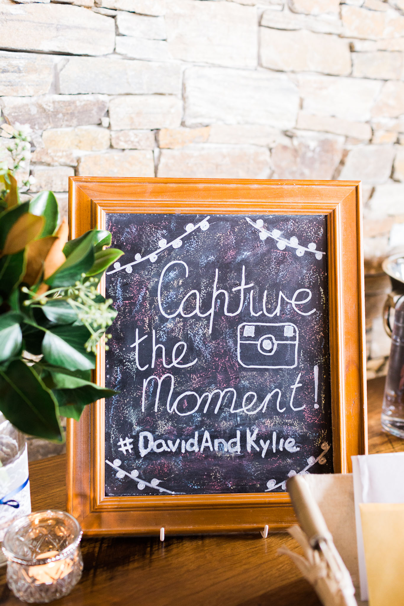 Wedding Hashtag Sign - Pialligo Estate Canberra