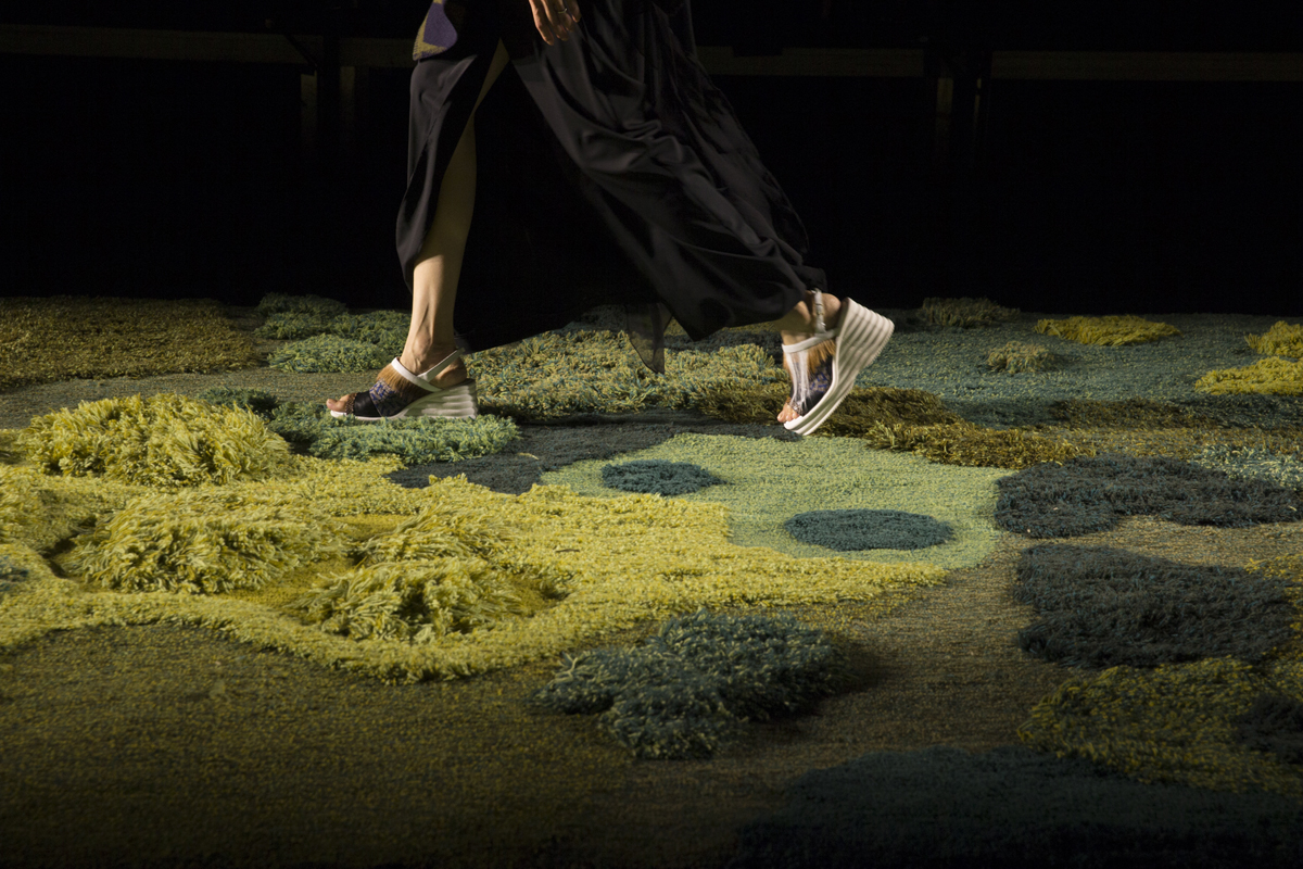 Commission for Dries Van Noten Spring 2015  show