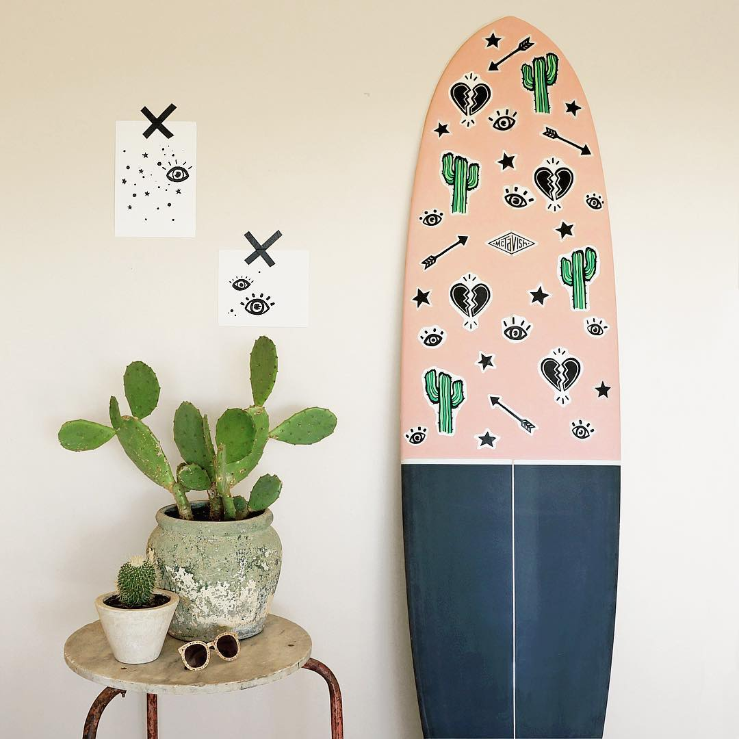 McTavish Surfboards x Lauren Webster