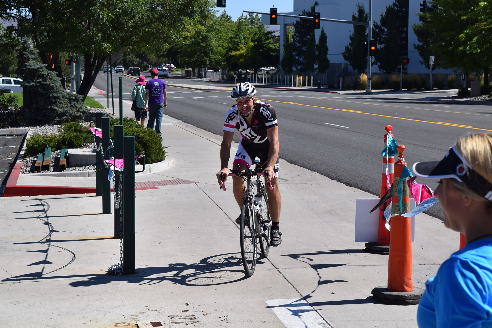 Brandon cross the line and it is official: Sanguine Octopus is first!! Photo by: Chris Kostman