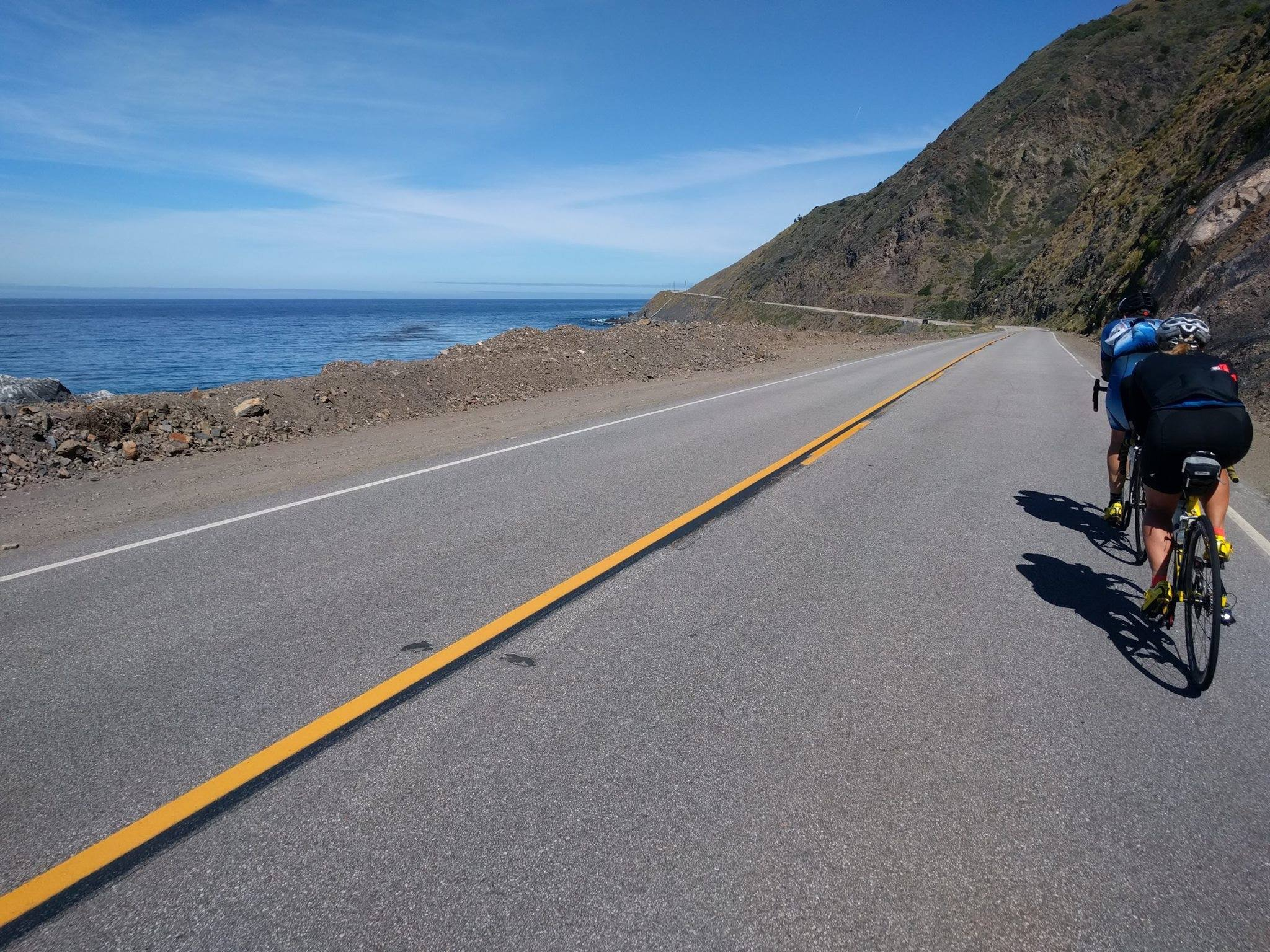Miles on Highway 1 are beautiful.