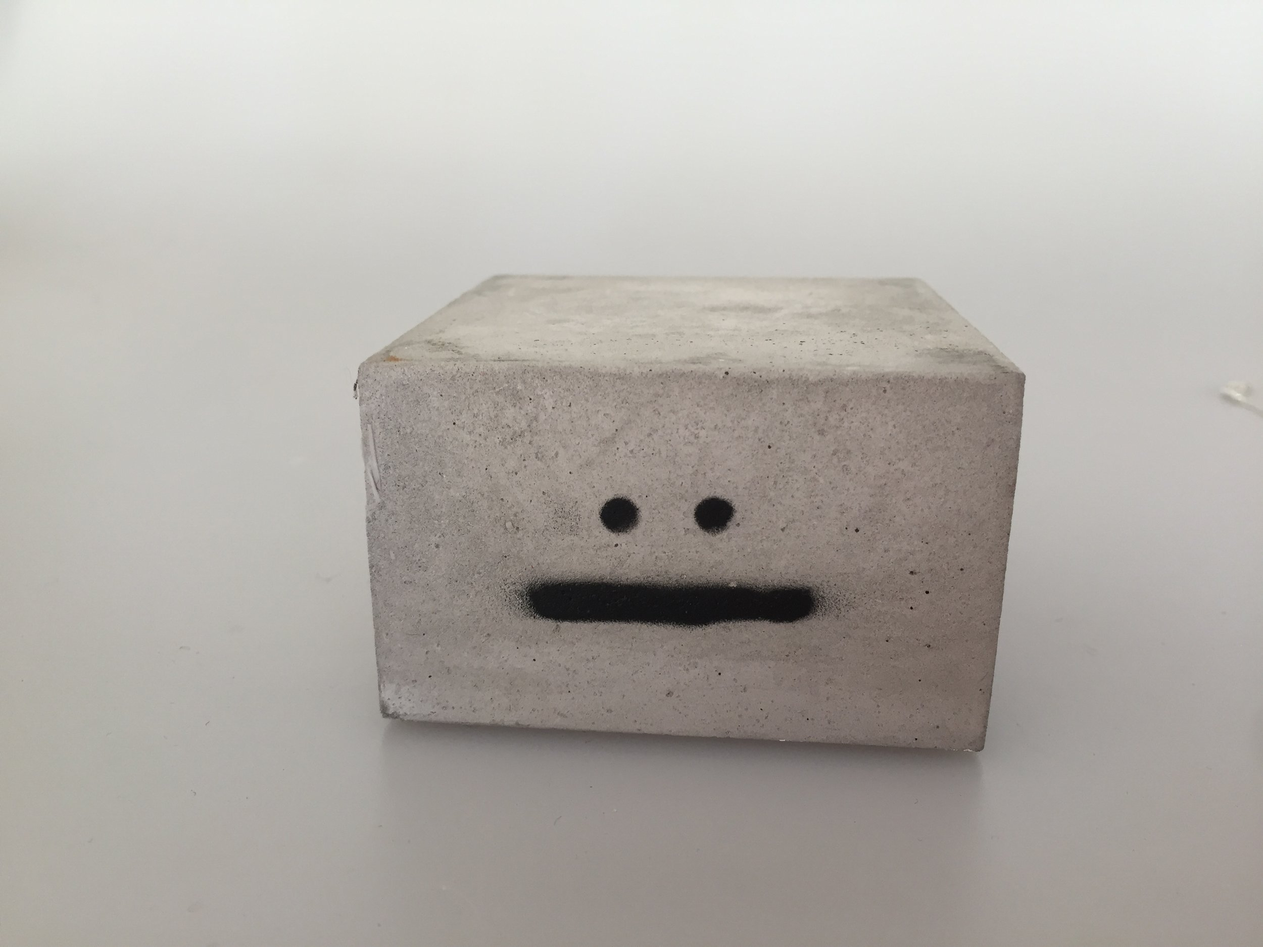 WALTER - is made of concrete.