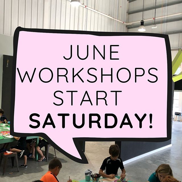 Our June workshops launch on Saturday! There's a little something for everyone!  AED 504 for four AED 147 for one  Call 04 882 4999 to register!