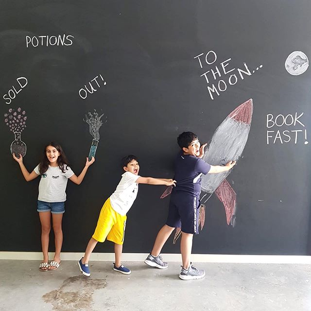 The magic of next week may be sold out, but there's still time to blast off to the moon on July 14-18! 🚀  @curiositylabdubai