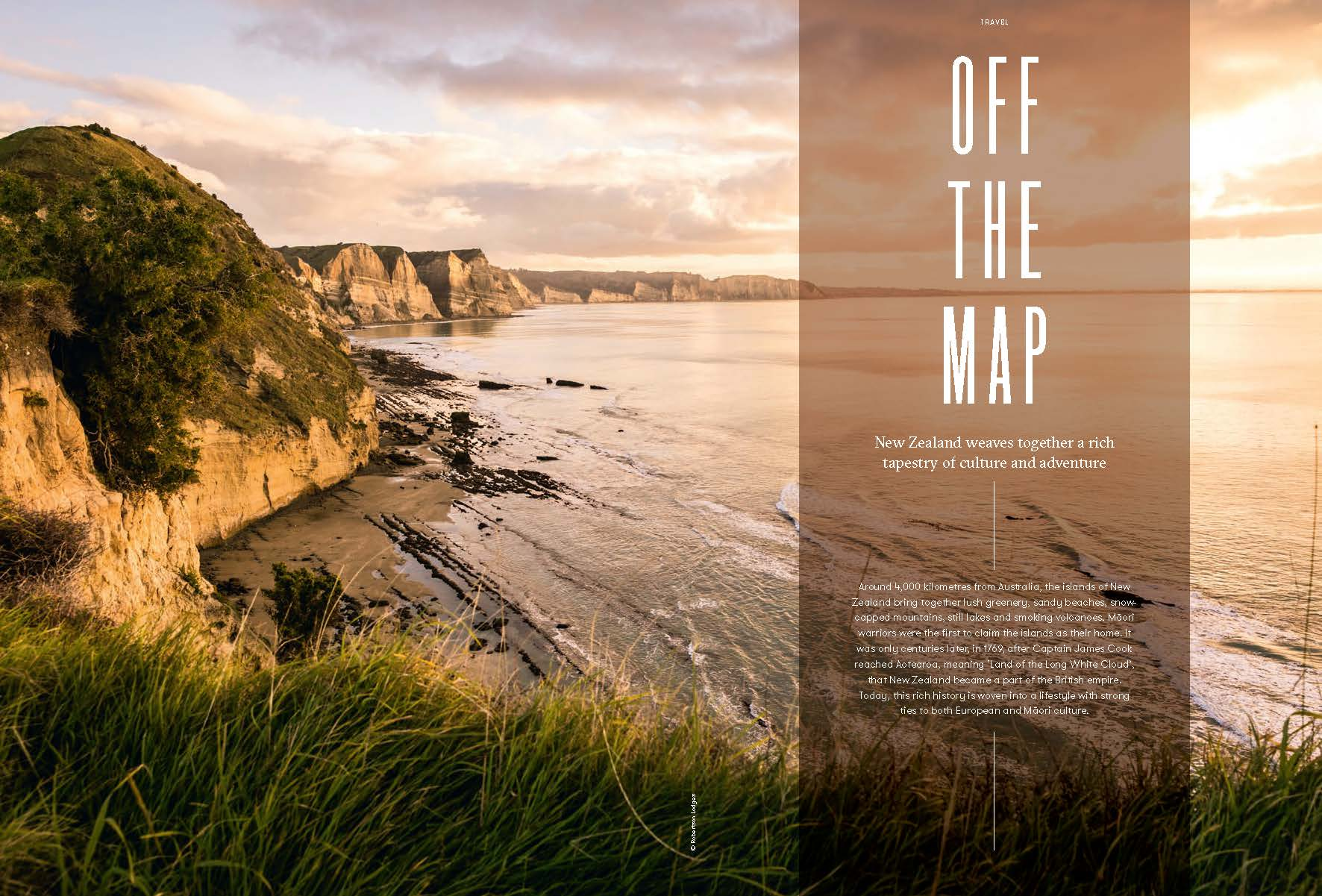 David & Radcliffe – Words – Off the map