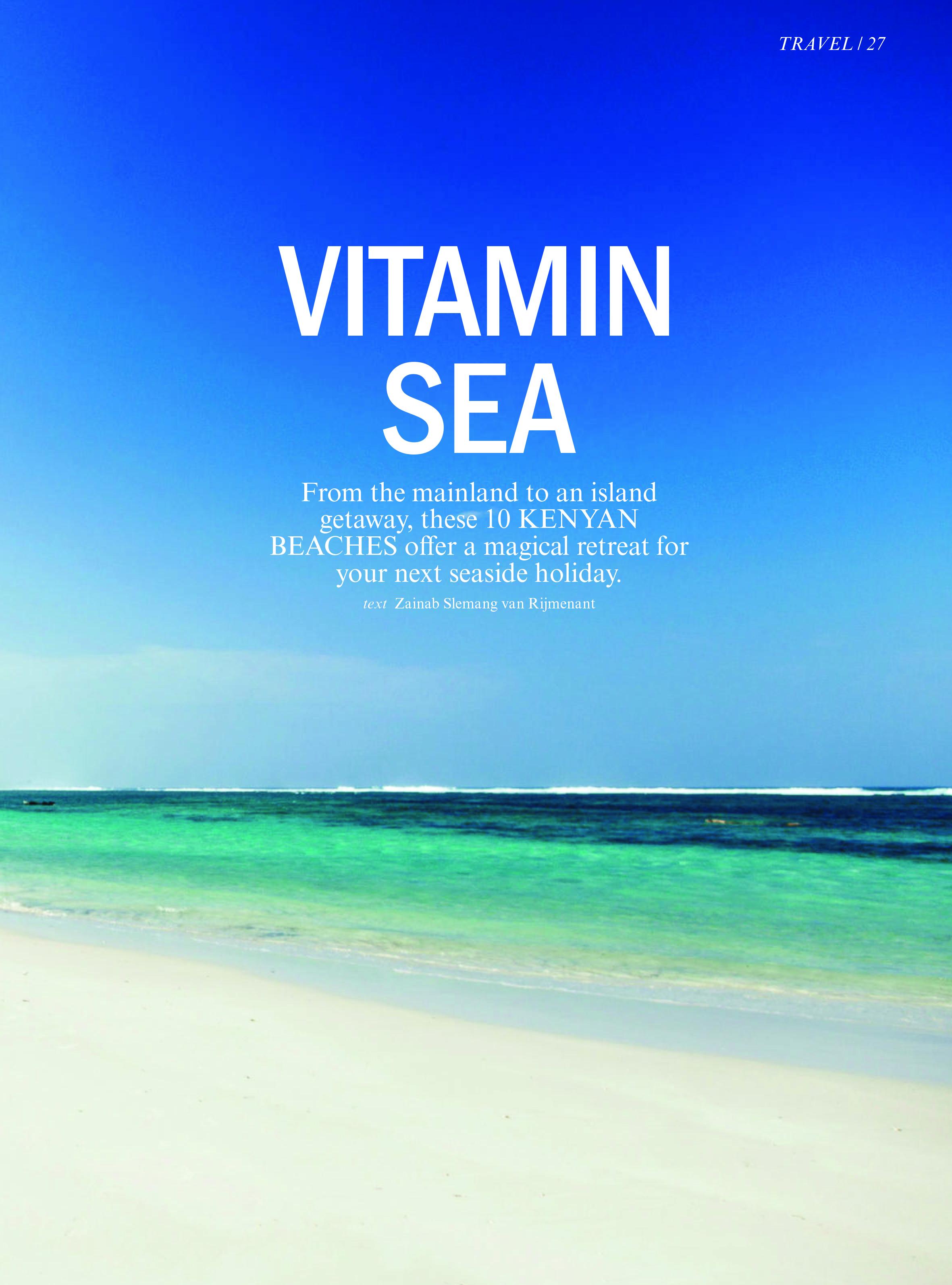 David & Radcliffe –Words – Vitamin sea