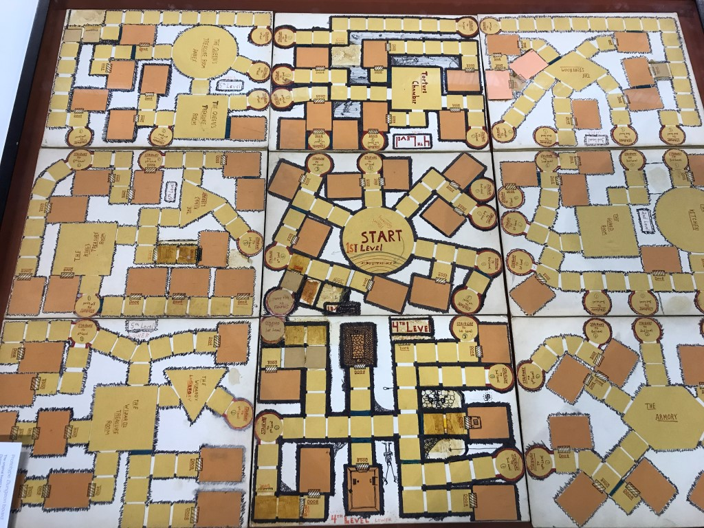 The prototype for the 1970's game  Dungeon!  I remember playing it with my family, it got me into RPGs!