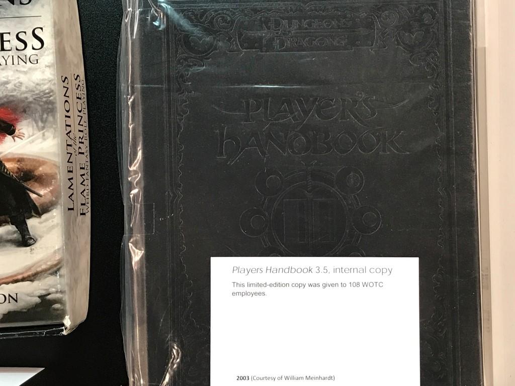 Internal Beta copy of Player's Handbook 3.5