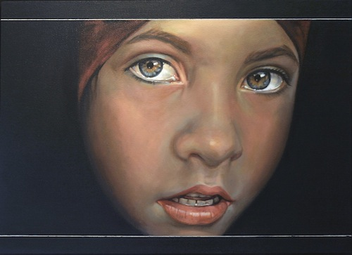 Classical Art Academy Martin Close Oil Painting