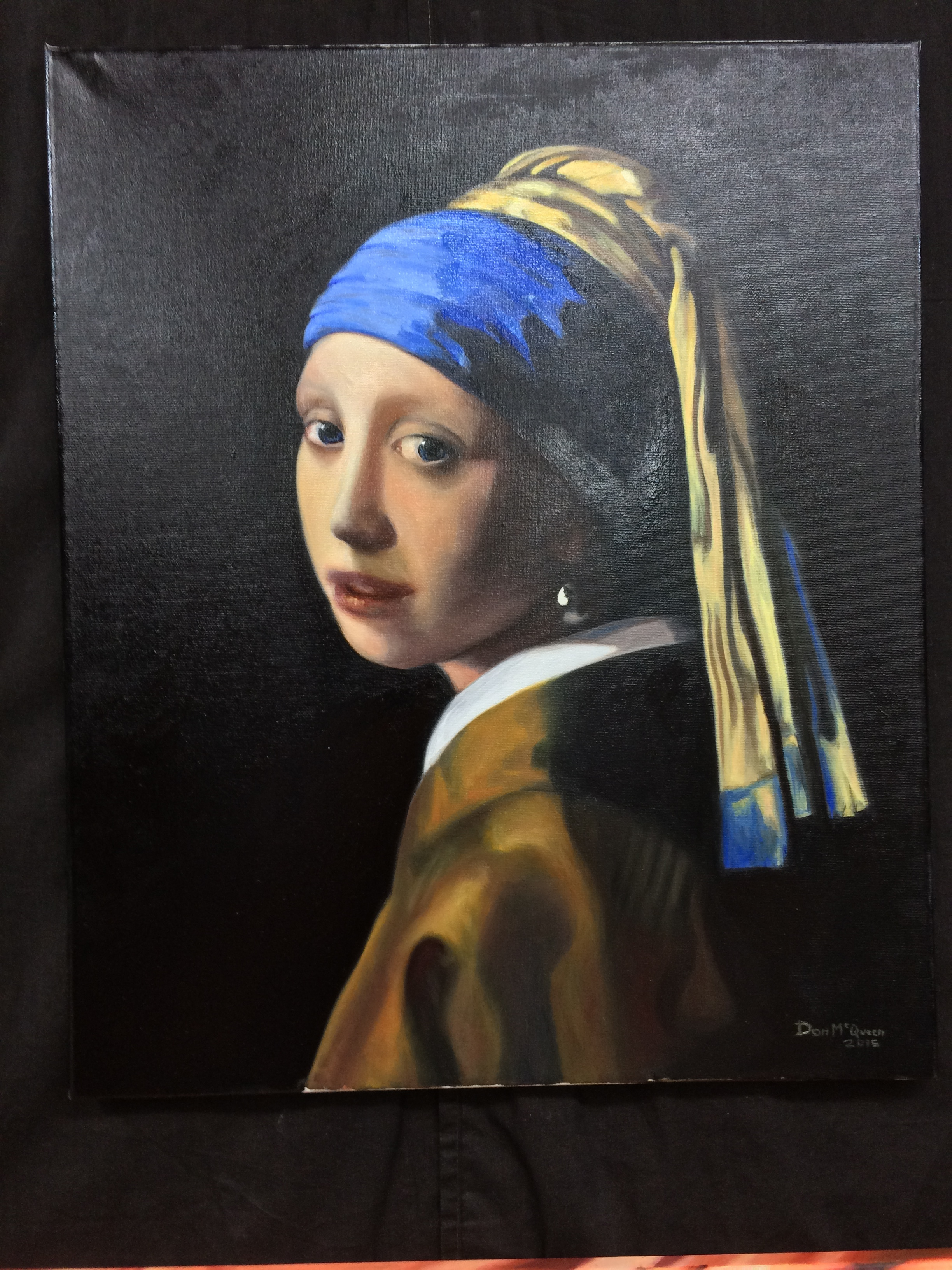 Classical Art Academy Students Studies Oil Painting