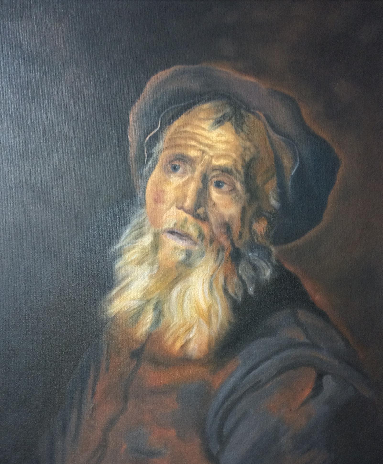 Classical Art Academy Students Studies Oil Painting Portraiture
