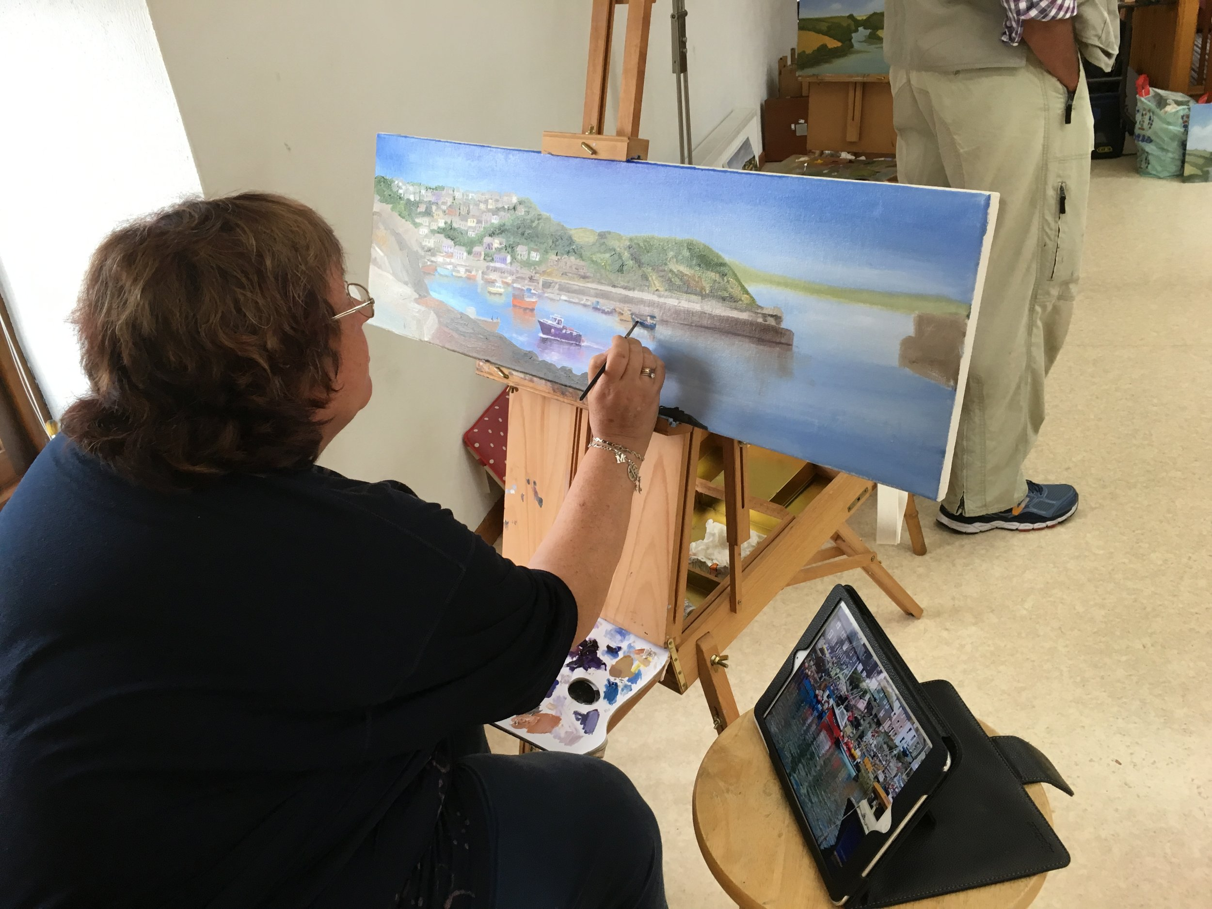 Classical Art Academy Oil Painting Holiday