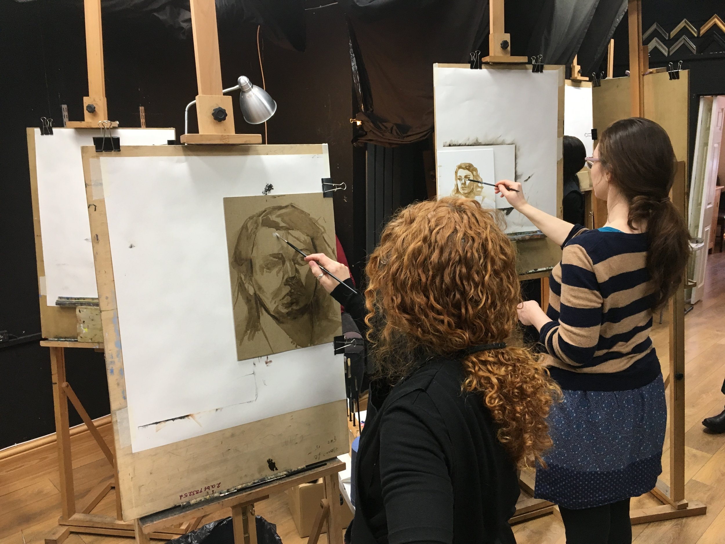 Atelier Painting - Classical Art Academy