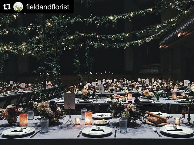 Lucky enough to work with @fieldandflorist on this stunning wedding over the weekend! ・・・ When the clients have great style, the farm dahlias are in full bloom and the vendor team is stacked. Tired but happy.