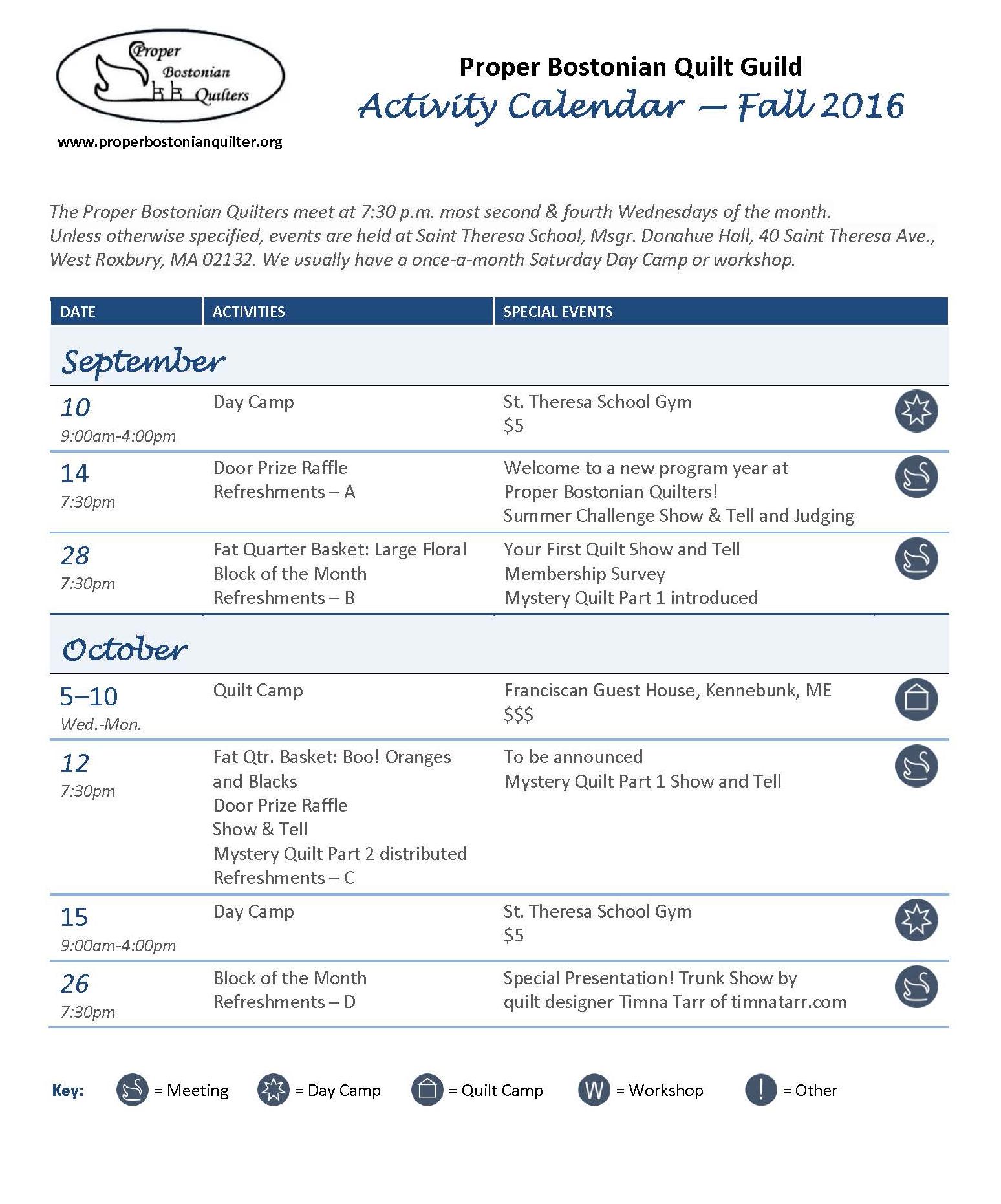 PBQ OFFICIAL CALENDAR Fall 2016_v4_P1