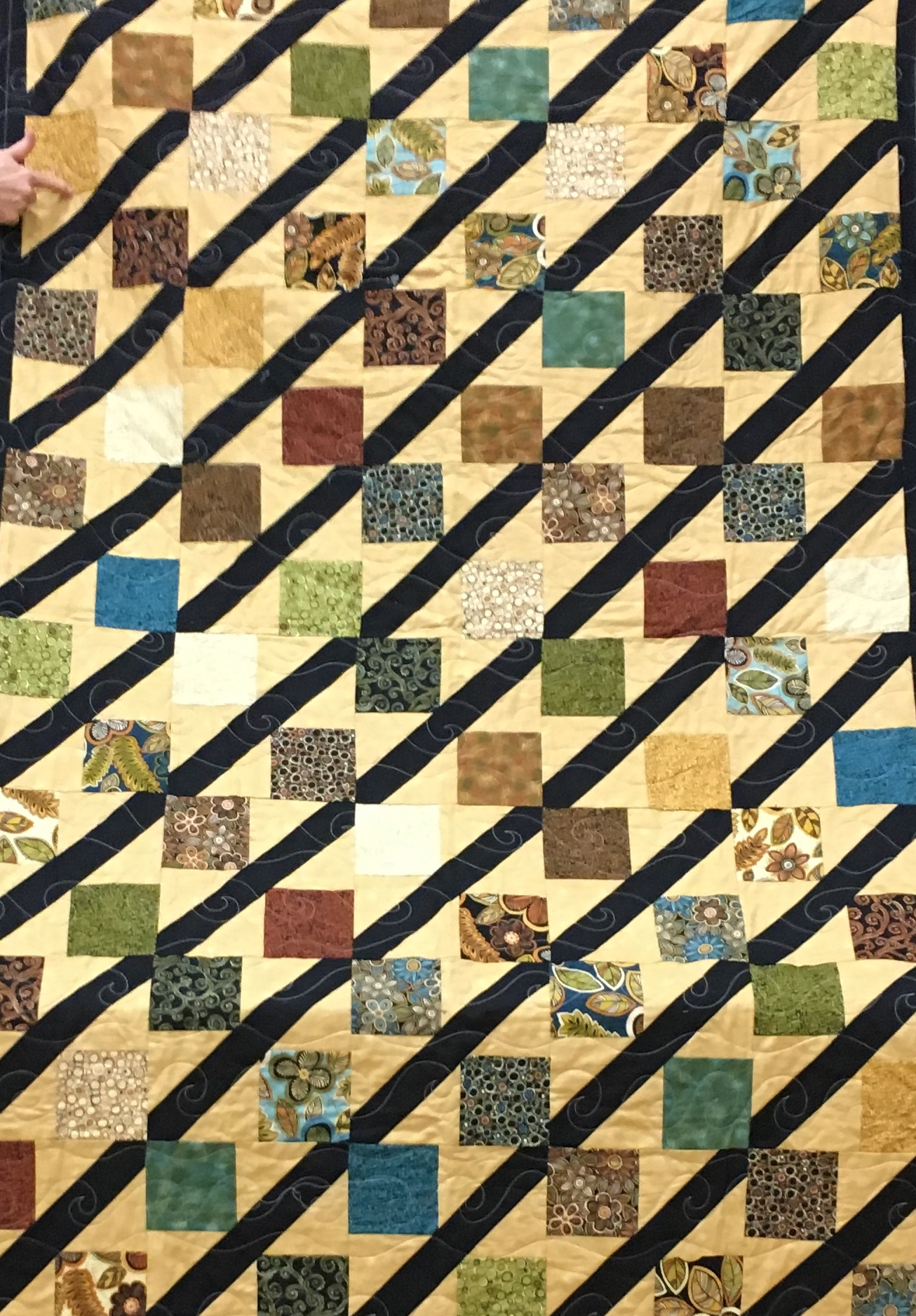 Charm Pack Charity Quilt