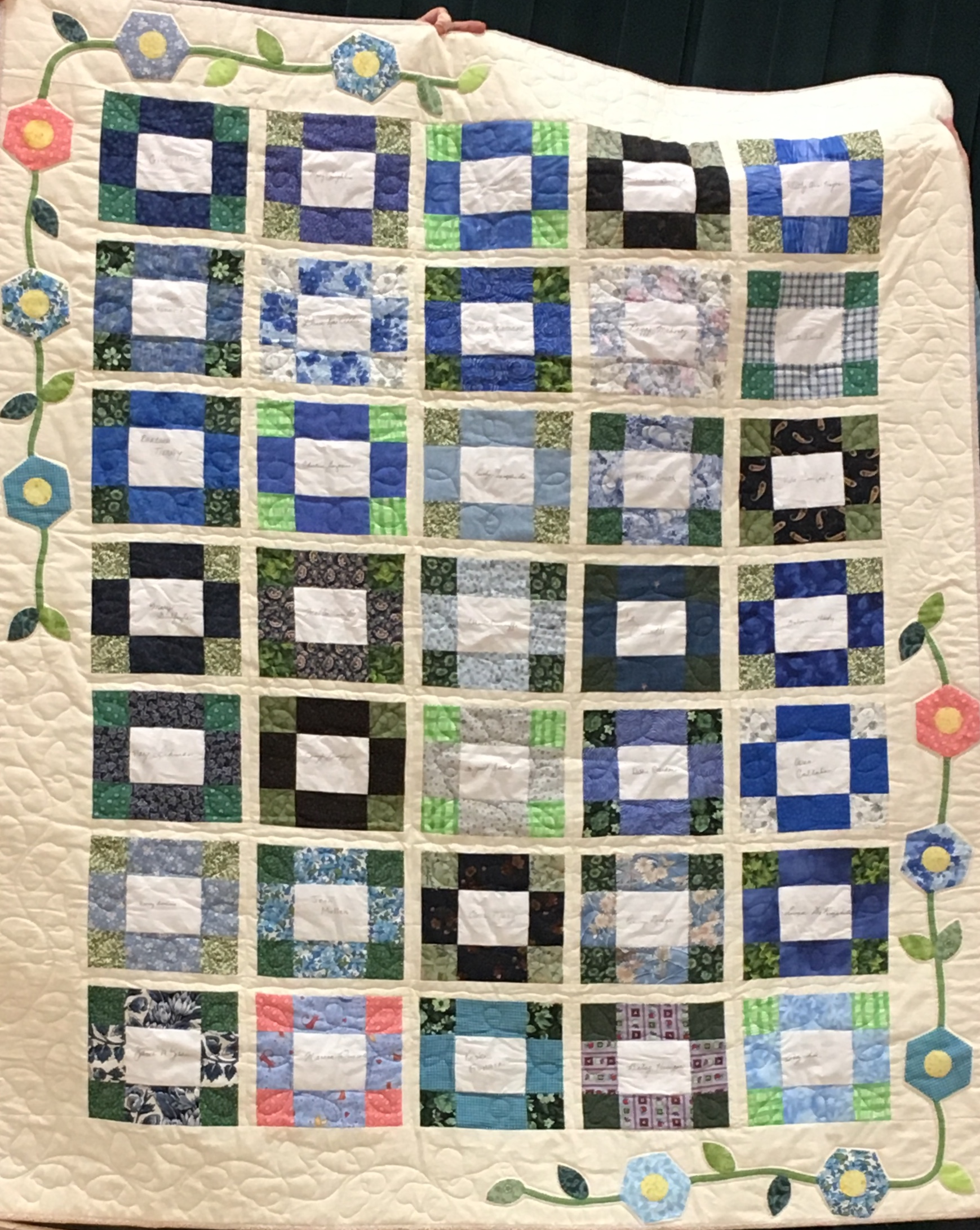 Signature Quilt, 13 yrs old