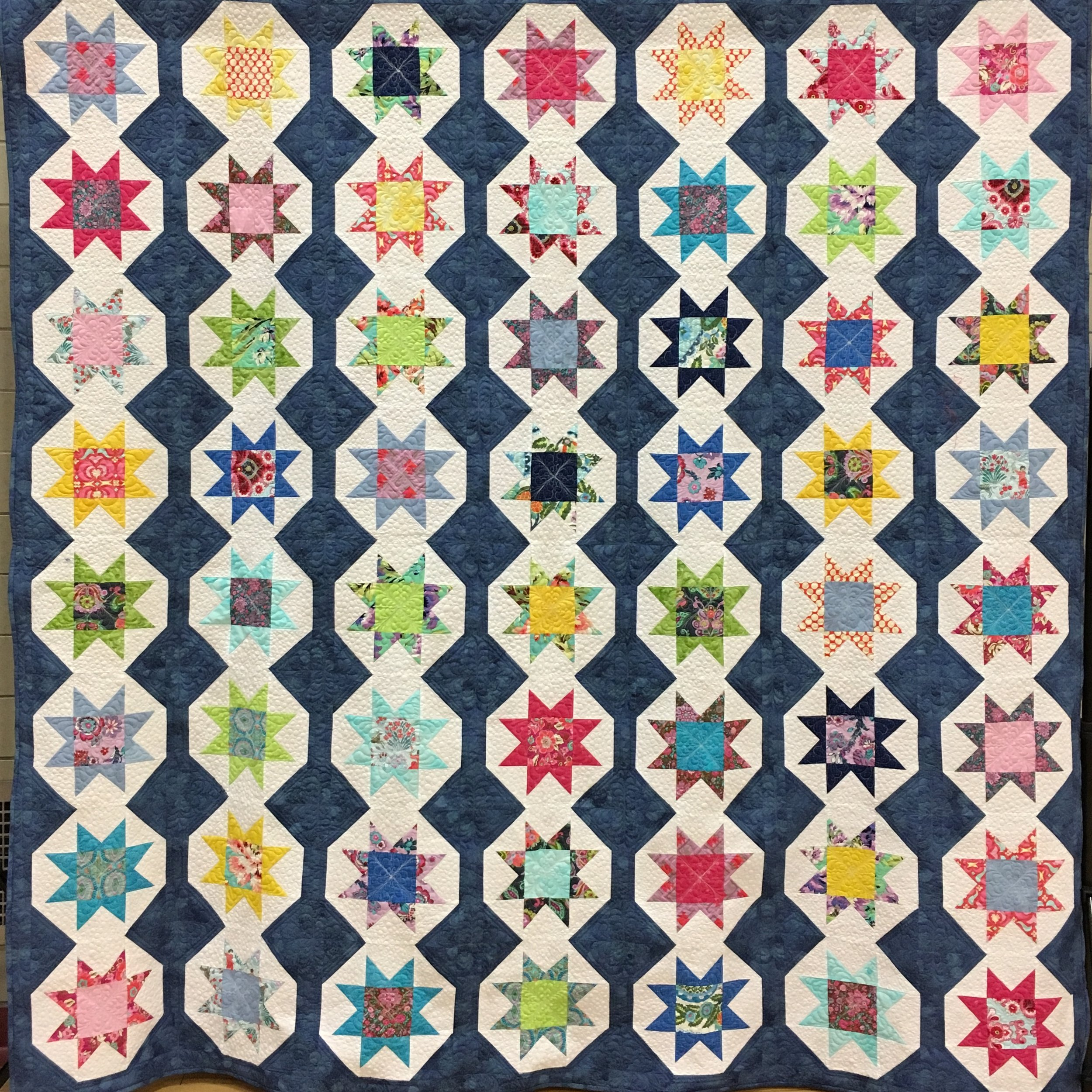 2019 Proper Bostonian Quilters Guild Raffle Quilt
