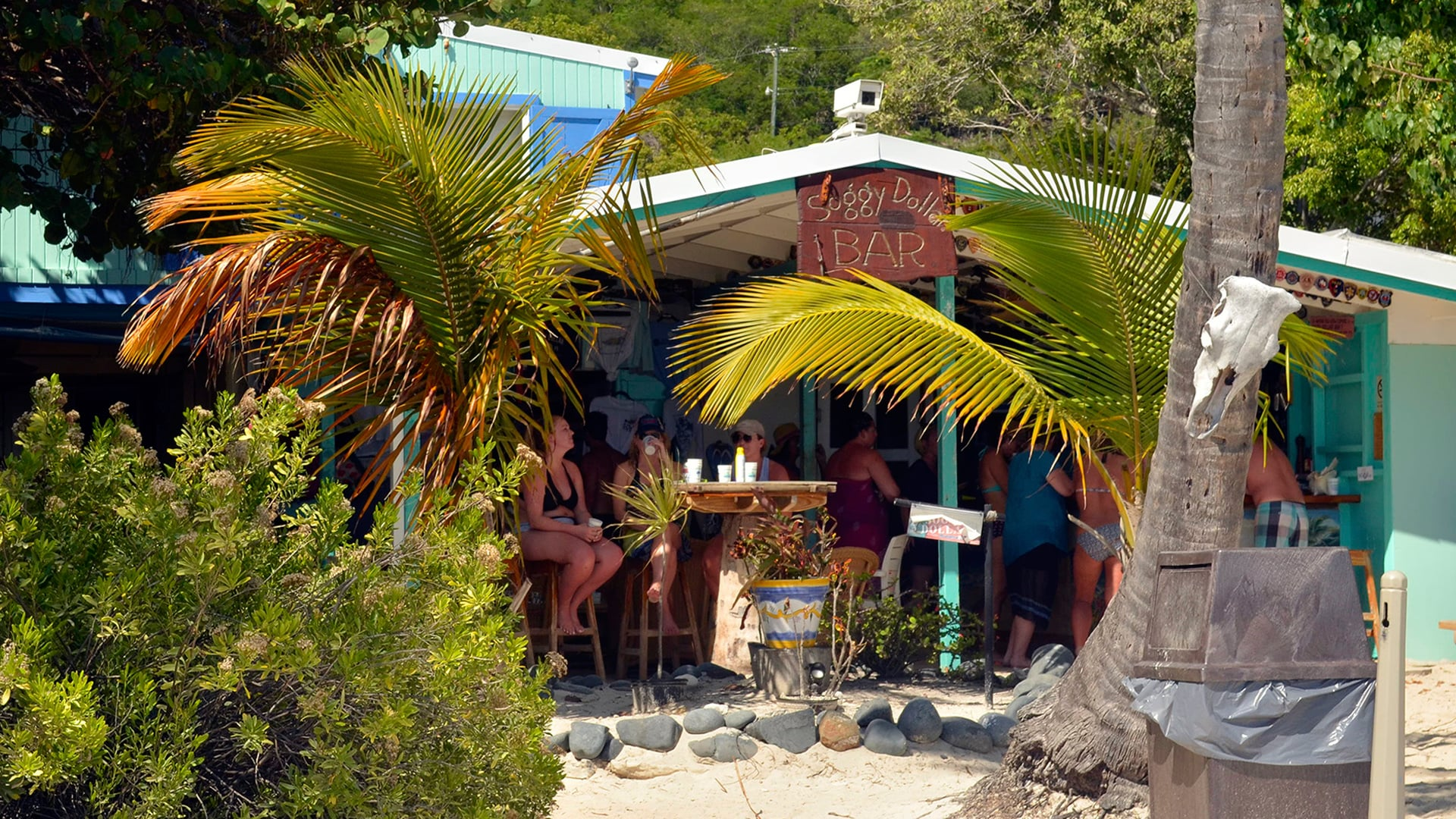 Soggy Dollar Bar, Jost Van Dyke, BVI