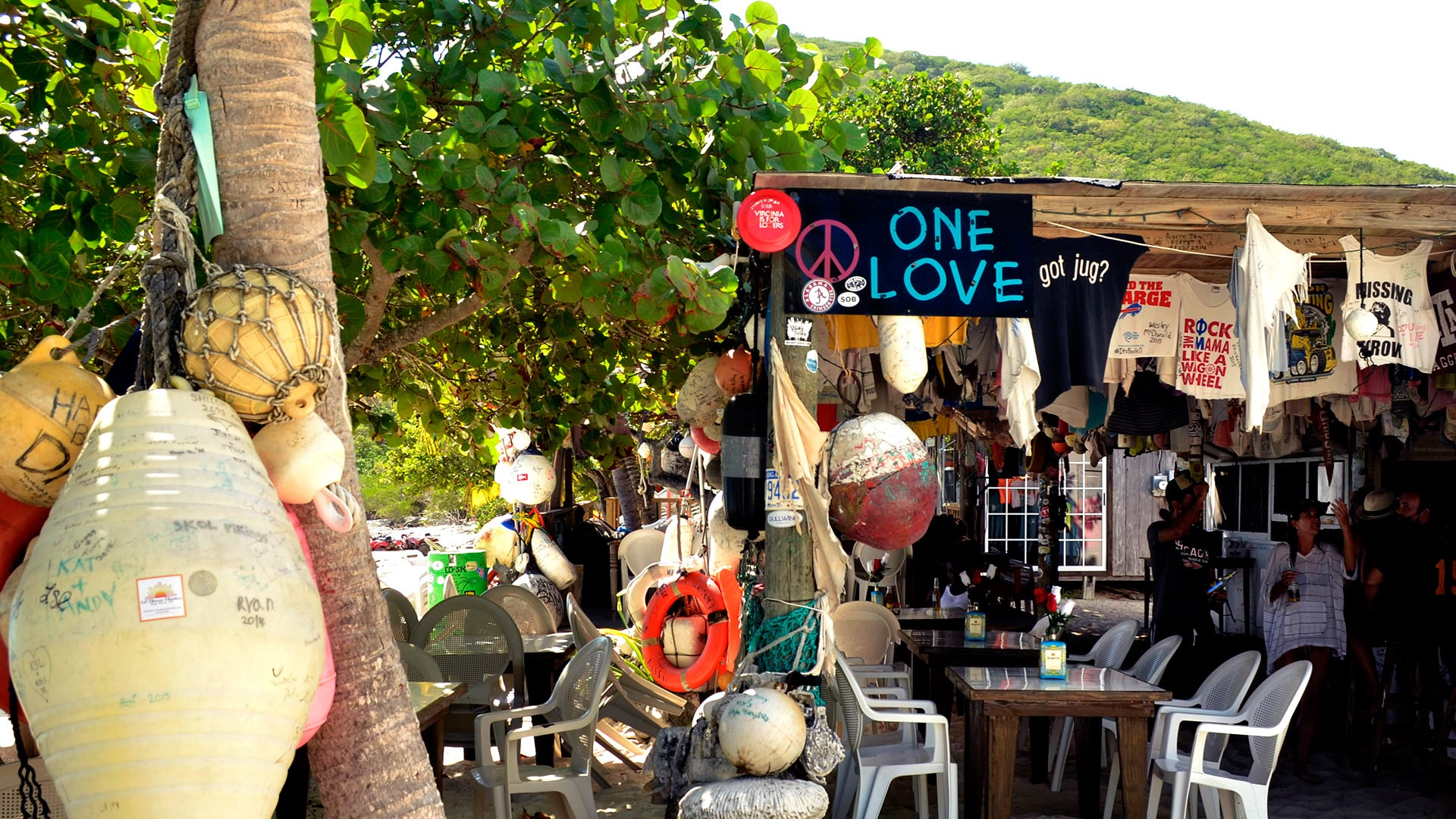 One Love Bar & Grill, Jost Van Dyke, BVI